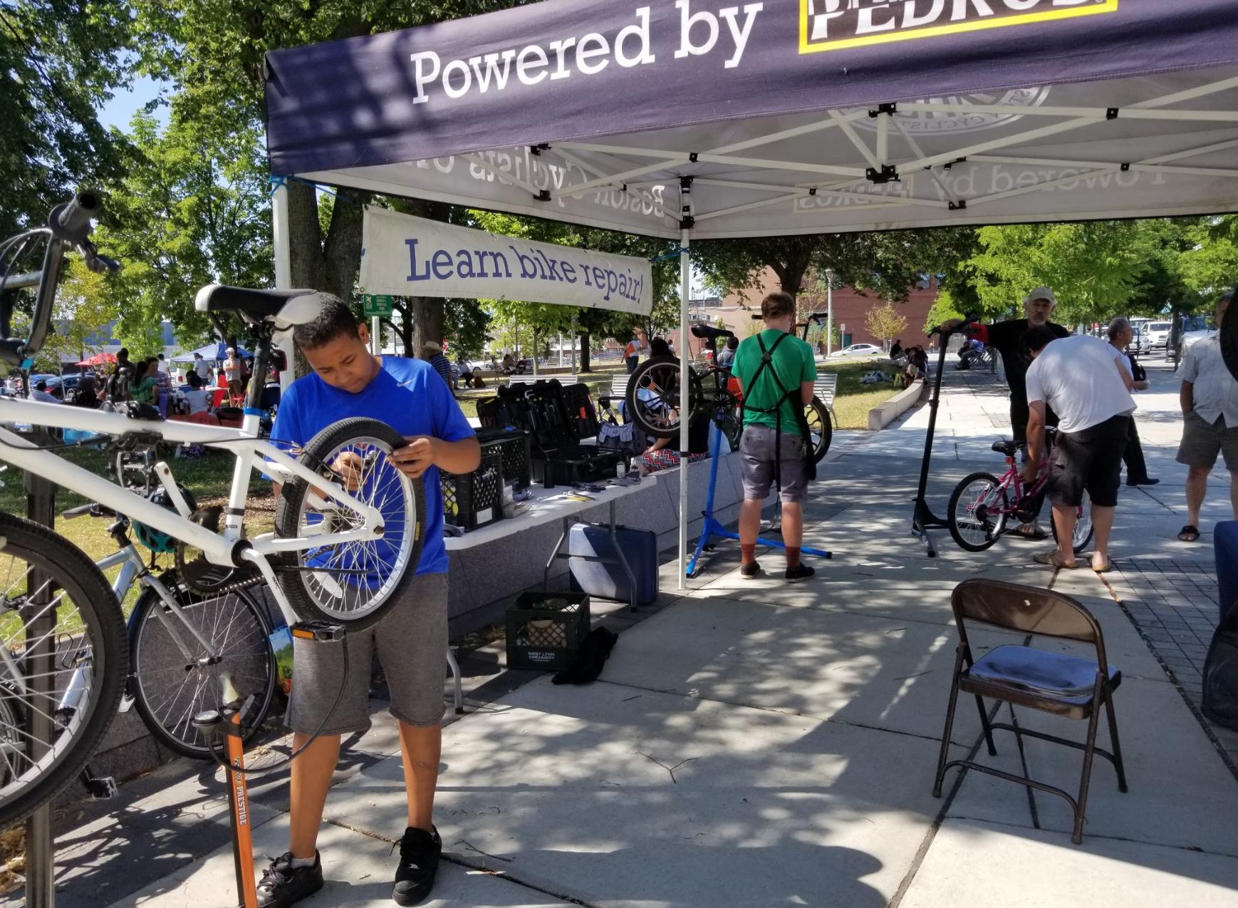 bike to market banner