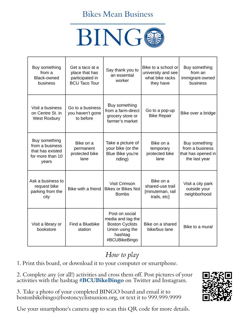 bingo card test